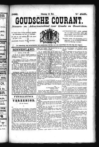 Goudsche Courant 1892-05-31