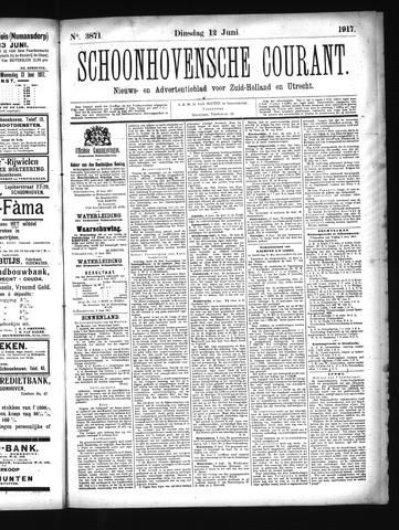 Schoonhovensche Courant 1917-06-12