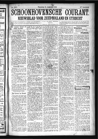 Schoonhovensche Courant 1925-08-31