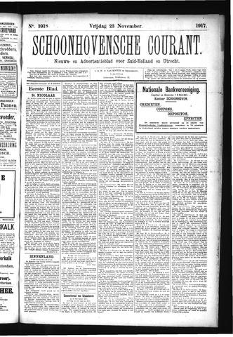Schoonhovensche Courant 1917-11-23