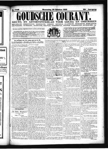 Goudsche Courant 1930-10-29
