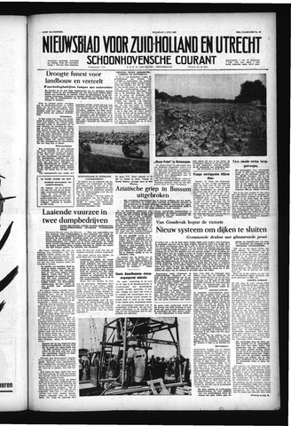 Schoonhovensche Courant 1957-07-01