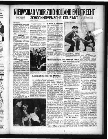 Schoonhovensche Courant 1952-04-16
