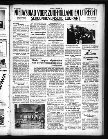Schoonhovensche Courant 1950-09-27