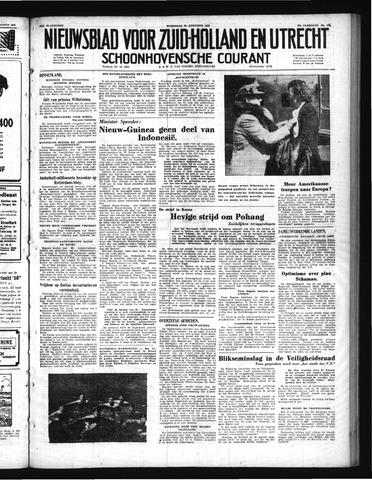 Schoonhovensche Courant 1950-08-30