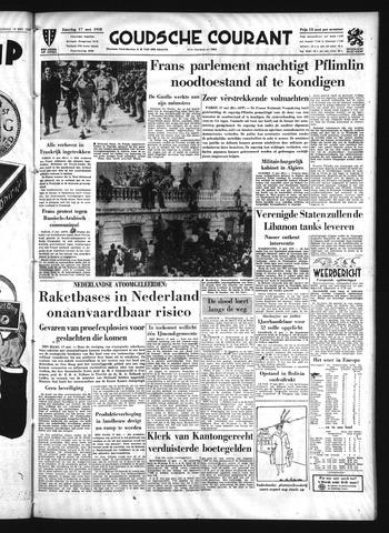 Goudsche Courant 1958-05-17