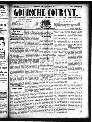 Goudsche Courant 1914-09-19