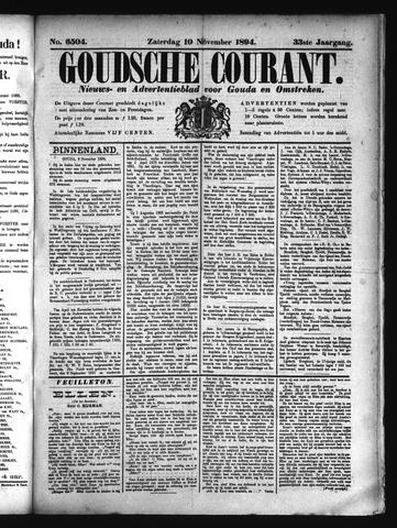 Goudsche Courant 1894-11-10