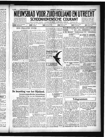 Schoonhovensche Courant 1936-03-11