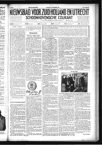 Schoonhovensche Courant 1933-09-11