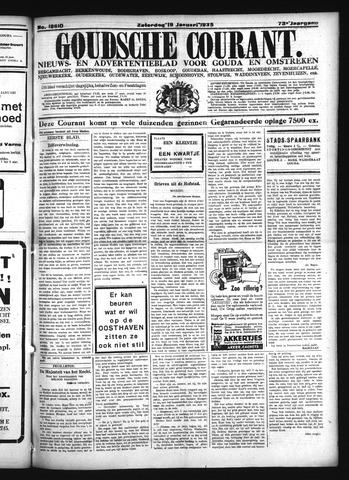 Goudsche Courant 1935-01-19