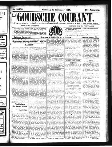 Goudsche Courant 1917-11-19