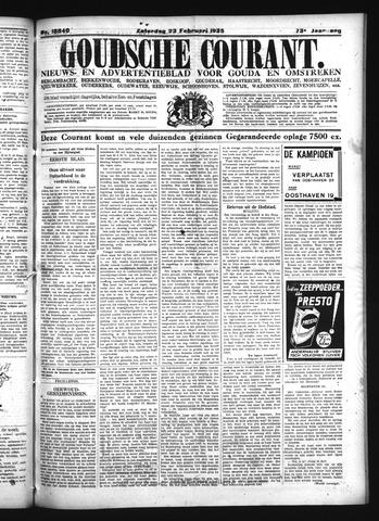 Goudsche Courant 1935-02-23