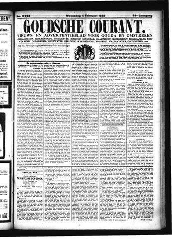 Goudsche Courant 1925-02-04