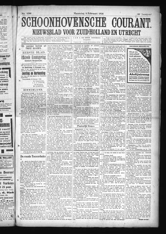 Schoonhovensche Courant 1926-02-08