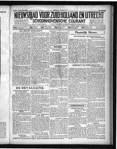 Schoonhovensche Courant 1936-10-19