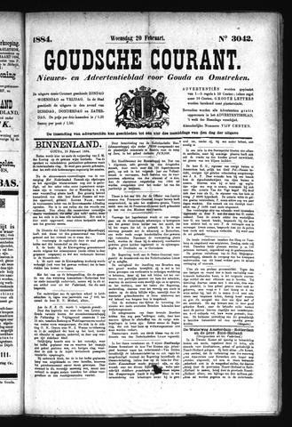 Goudsche Courant 1884-02-20