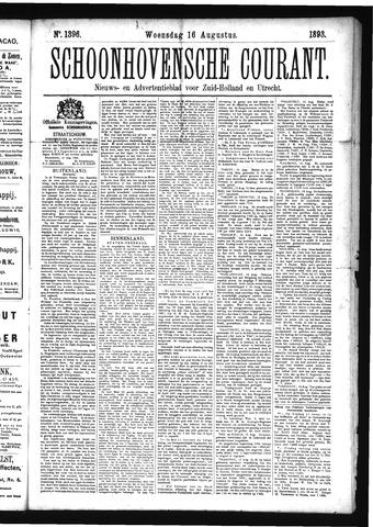 Schoonhovensche Courant 1893-08-16