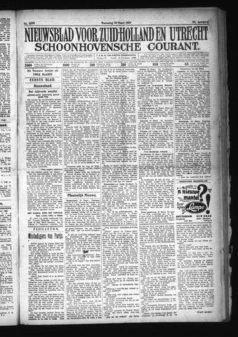 Schoonhovensche Courant 1929-03-20