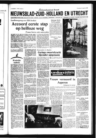 Schoonhovensche Courant 1969-08-13