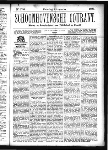 Schoonhovensche Courant 1896-08-08