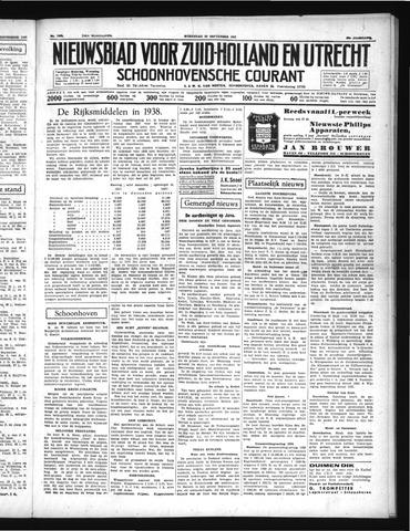 Schoonhovensche Courant 1937-09-29