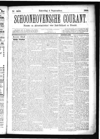 Schoonhovensche Courant 1909-09-04