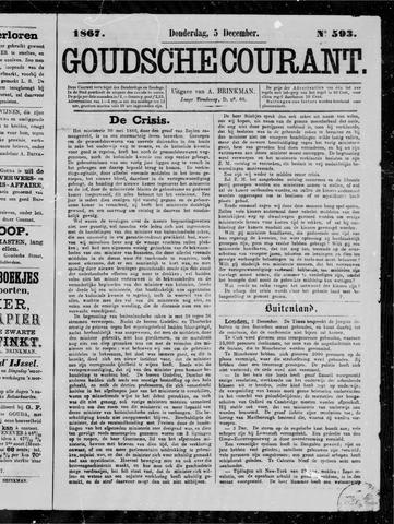 Goudsche Courant 1867-12-05