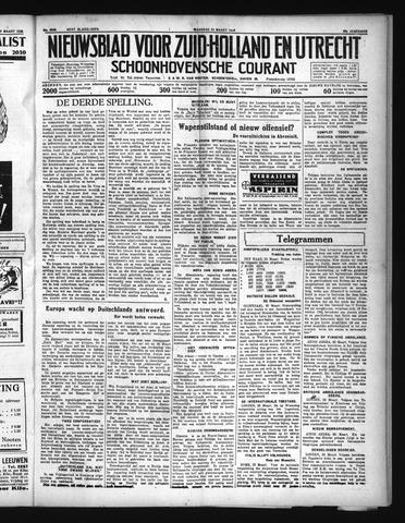 Schoonhovensche Courant 1936-03-23