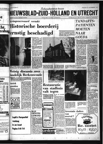 Schoonhovensche Courant 1974-11-22