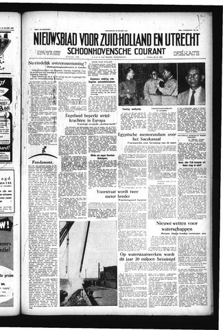 Schoonhovensche Courant 1957-03-20
