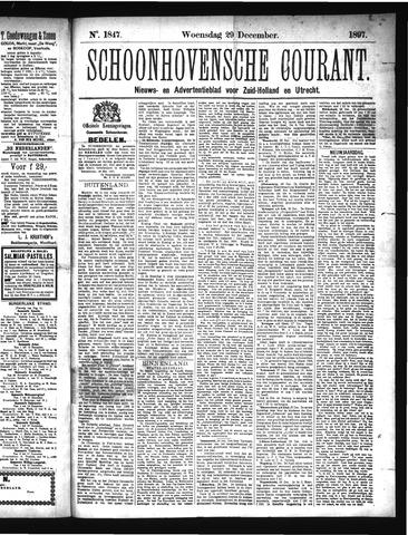 Schoonhovensche Courant 1897-12-29