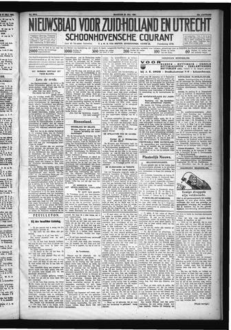Schoonhovensche Courant 1931-07-20