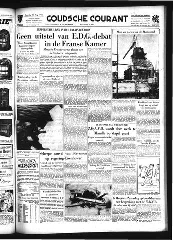 Goudsche Courant 1954-08-30