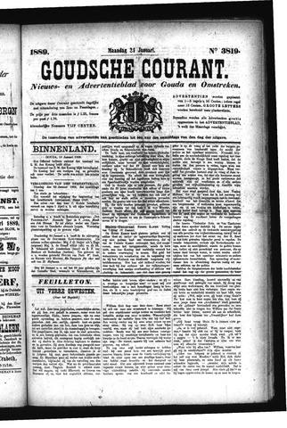 Goudsche Courant 1889-01-21