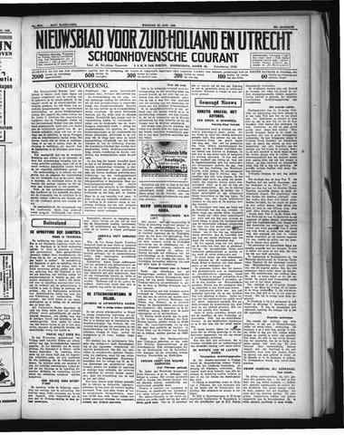 Schoonhovensche Courant 1936-06-22