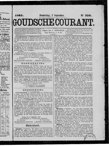 Goudsche Courant 1865-09-07