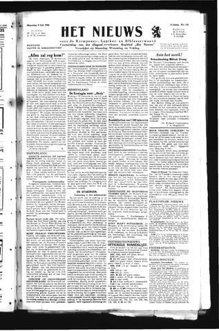 Schoonhovensche Courant 1945-07-09
