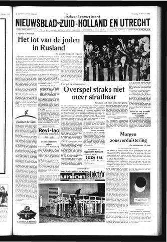 Schoonhovensche Courant 1971-02-24