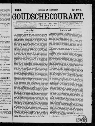 Goudsche Courant 1867-09-29