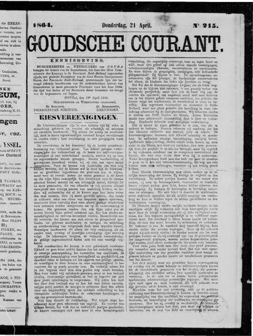 Goudsche Courant 1864-04-21