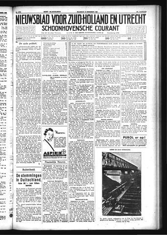 Schoonhovensche Courant 1933-11-13