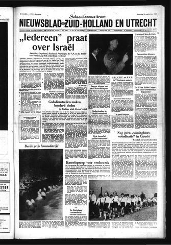 Schoonhovensche Courant 1969-09-22