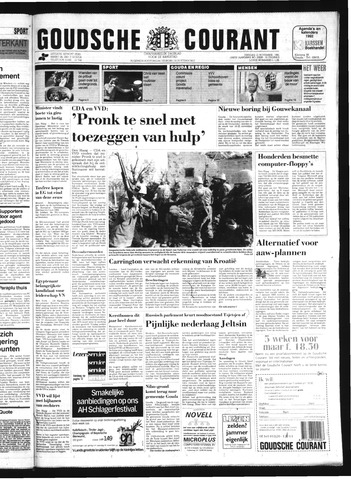 Goudsche Courant 1991-11-12