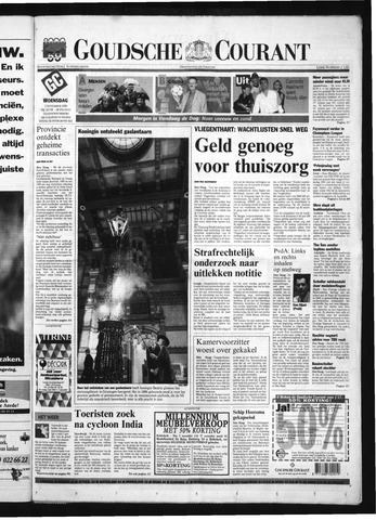 Goudsche Courant 1999-11-03