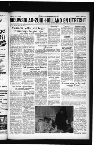 Schoonhovensche Courant 1961-10-23