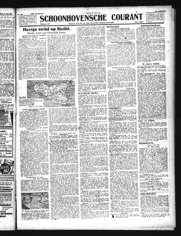 Schoonhovensche Courant 1943-07-16
