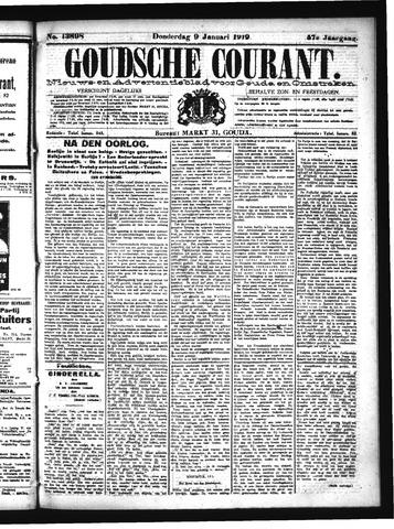Goudsche Courant 1919-01-09