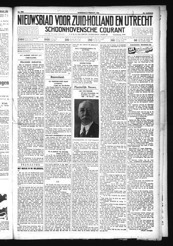 Schoonhovensche Courant 1932-02-24