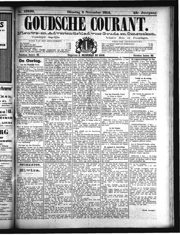Goudsche Courant 1914-11-03